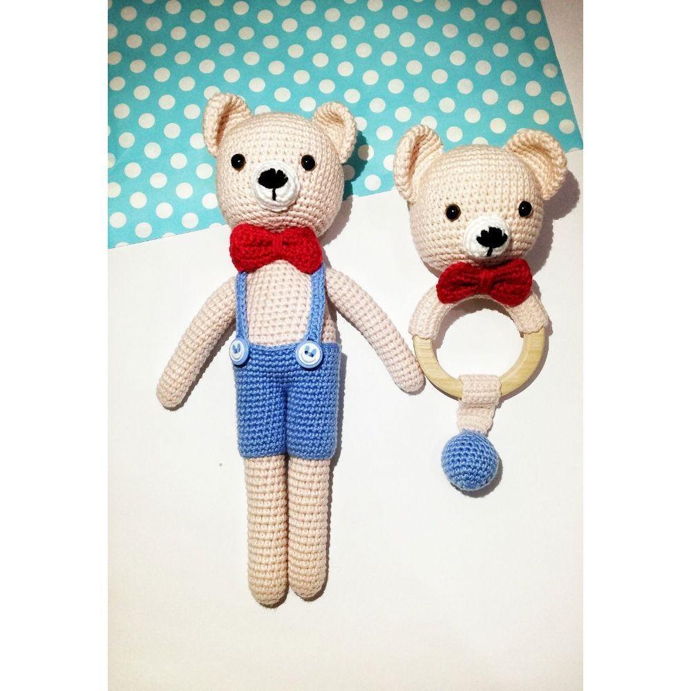 Amigurumi Ayı Teddy Oyuncak Yapımı - M-Visible.com | 1000x1000